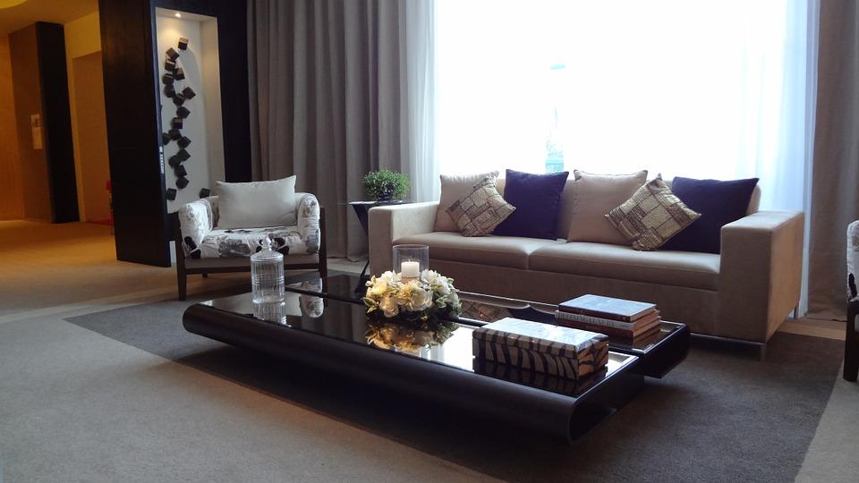 Leren bank in de woonkamer de woontrends - Salon decoratie ideeen ...