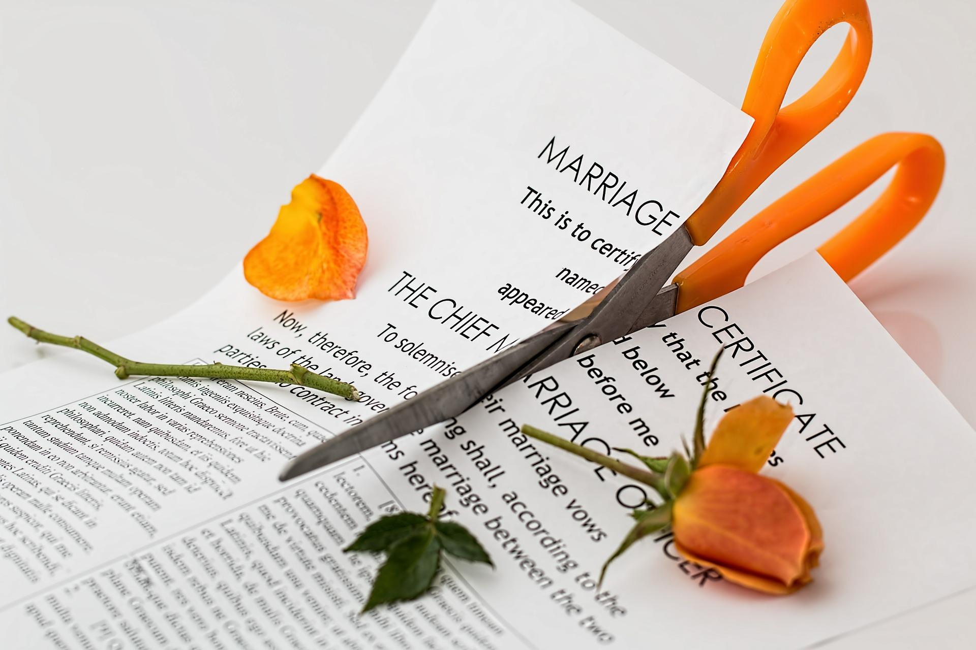 scheiden en wonen